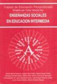 ENSEÑANZAS SOCIALES EN EDUACION INTERMEDIA - 9788432130977 - VICTOR GARCIA HOZ
