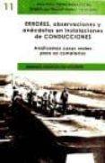 ERRORES, OBERSERVACIONES Y ANÉCDOTAS EN INSTALACIONES DE CONDUCCIONES - 9788496486577 - MANUEL MATEOS DE VICENTE