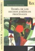 TEORIA DE LOS HECHOS JURIDICOS PROCESALES (2018) - 9789563921977 - VV.AA.