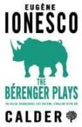 the berenger plays-eugene ionesco-9780714548487