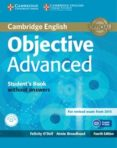 OBJECTIVE ADVANCED STUDENT S BOOK WITHOUT ANSWERS WITH CD-ROM 4TH EDITION - 9781107674387 - VV.AA.