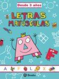 LETRAS MAYUSCULAS (GRAN CUADERNO) - 9788421654187 - VV.AA.