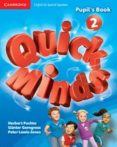 QUICK MINDS LEVEL 2 PUPIL S BOOK WITH DVD-ROM SPANISH EDITION - 9788483235287 - VV.AA.