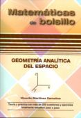GEOMETRÍA ANALÍTICA DEL ESPACIO - 9788494155987 - VICENTE MARTINEZ ZAMALLOA