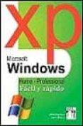 WINDOWS XP FACIL Y RAPIDO - 9788495318787 - ALBERT BERNAUS PEREZ