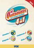 (PE) EL QUITADUDAS DE LA LENGUA ESPAÑOLA: 4 EN 1 - 9788471538697 - VV.AA.