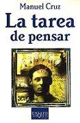 TAREA DE PENSAR - 9788483109397 - MANUEL CRUZ