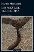 DESPUES DEL TERREMOTO - 9788483834497 - HARUKI MURAKAMI