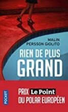 Libro de texto de electrónica descarga pdf RIEN DE PLUS GRAND (Spanish Edition)  9782266290807 de MALIN PERSSON GIOLITO