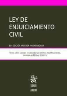 Descargar LEY DE ENJUICIAMIENTO CIVIL gratis pdf - leer online