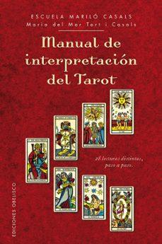 manual de interpretación del tarot-maria del mar tort i casals-9788416192007