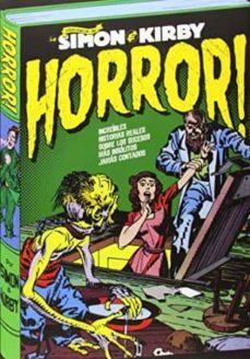 horror: los archivos de joe simon y jack kirby-joe simon-jack kirby-9788416217007