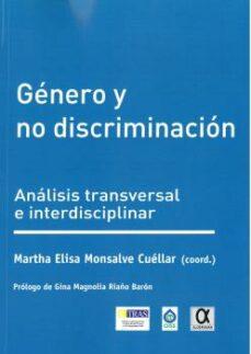 Descargar gratis libros GÉNERO Y NO DISCRIMINACIÓN RTF