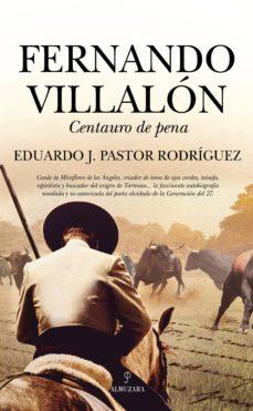 Foro de descargas de libros electrónicos FERNANDO VILLALON de EDUARDO JAVIER PASTOR RODRIGUEZ