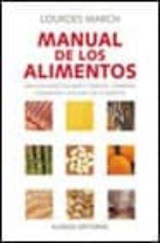 manual de los alimentos-lourdes march-9788420644707