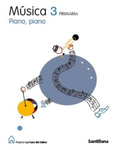 Eldeportedealbacete.es 3º Primaria Musica Piano Piano Casa Saber Ed08 Image