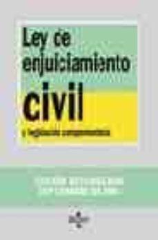 Permacultivo.es Ley De Enjuiciamiento Civil (5ª Ed.) Image