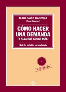 Bressoamisuradi.it Como Hacer Una Demanda (Y Algunas Cosas Más) Introducción Práctic A A Las Formas Procesales Civiles (5º Ed.) Image