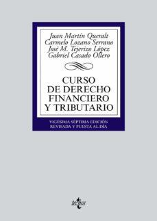 curso de derecho financiero y tributario (27ª ed.)-9788430969807