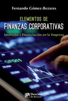 Lofficielhommes.es Elementos De Finanzas Corporativas Image