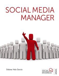 social media manager-dolores vela garcia-9788441532007
