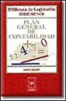 Inmaswan.es Plan General De Contabilidad (5ª Ed.) Image
