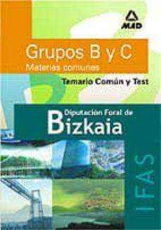 Permacultivo.es Diputacion Foral De Bizkaia- Ifas- Grupos B Y C (Materias Comunes ) : Temario Comun Y Test Image