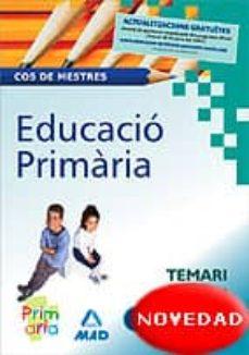 Officinefritz.it Cos De Mestres Educacio Primaria: Temari Vol. I Image