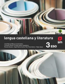 Chapultepecuno.mx Lengua Castellana Y Literatura 3º Eso Sabia Ed 2015 Image
