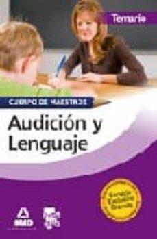 Mrnice.mx Cuerpo De Maestros. Audicion Y Lenguaje. Temario Image