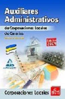 Inmaswan.es Auxiliares Administrativos De Corporaciones Locales De Canarias. Temario General Image