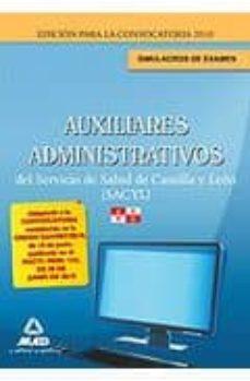 Permacultivo.es Auxiliares Administrativos Del Servicio De Salud De Castilla Y Le On (Sacyl). Simulacros De Examen Image