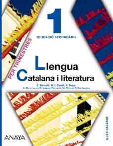 Lofficielhommes.es Llengua Catalana I Literatura 1. Illes Balears Catalán Image