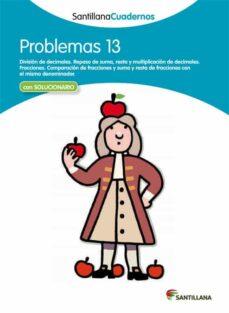 problemas matematicas 13-9788468013107