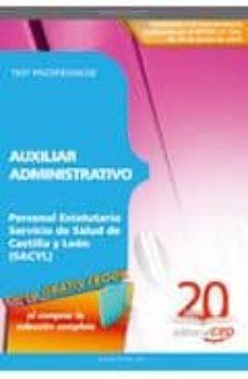 Colorroad.es Auxiliar Administrativo Personal Estatutario Servicio De Salud De Castilla Y Leon (Sacyl). Test Psicotecnicos Image