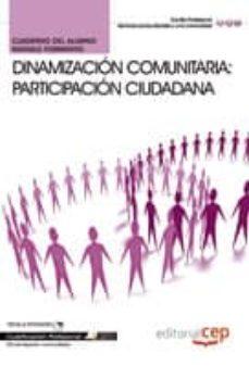 Cronouno.es Cuaderno Del Alumno Dinamización Comunitaria: Participación Ciuda Dama. Cualificacion Profesional. Image