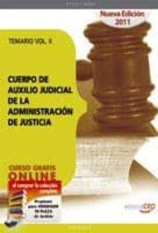 Upgrade6a.es Cuerpo De Auxilio Judicial De La Administracion De Justicia. Tema Rio Vol. Ii. Image