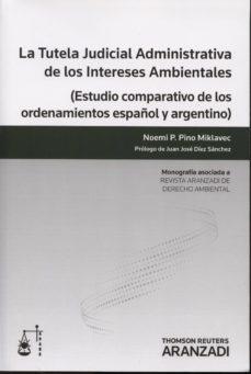 Chapultepecuno.mx Tutela Judicial Adminsitrativa De Los Intereses Ambientales: Estu Dio Comparativo De Los Ordenamientos Español Y Argentino Image