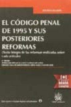 Permacultivo.es El Códigopenal De 1995 Y Sus Posteriores Reformas. 8ª Ed Image