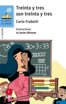 treinta y tres son treinta y tres-carlo frabetti-9788491072607