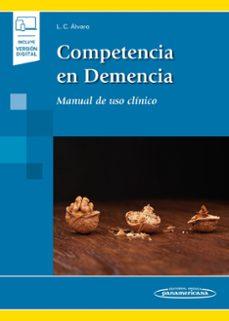 Descargador de libros de Google pdf COMPETENCIA EN DEMENCIA de LUIS CARLOS ALVARO MOBI CHM en español