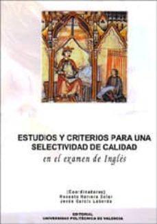 Bressoamisuradi.it Estudios Y Criterios Para Una Selectividad De Calidad En El Exame N De Ingles Image