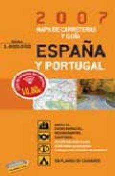 Javiercoterillo.es Guia Y Mapa De Carreteras De España Y Portugal 2007 (1:800000) Image