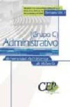 Geekmag.es Temario Vol I Oposiciones Administrativo De La Universidad Politecnica De Valencia (Grupo C) Image