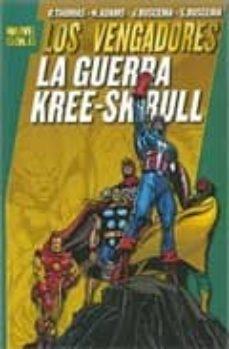 Followusmedia.es Marvel Gold. Los Vengadores: La Guerra Kree-skrull Image