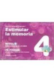 estimular la memoria nivel 4: para chicos de 13 a 16 años 70 fich as con ejercicios listos para ser utilizados-jesus jarque garcia-9788498962307