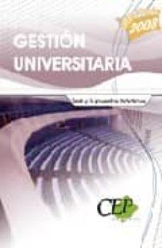 Debatecd.mx Test Y Supuestos Practicos Gestion Universitaria. Oposiciones Gen Erales Image