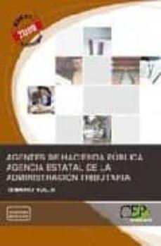 Premioinnovacionsanitaria.es Agentes De Hacienda Publica. Agencia Estatal De La Administracion Tributaria. Temario. Vol. Ii Image