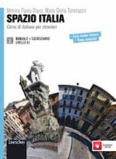Descargar libros electrónicos en formato pdf SPAZIO ITALIA 1 (LIBRO + ESERCIZIARIO) A1: CORSO DI ITALIANO PER STRANIERI - SOLO MANUALE CON ESERCIZI