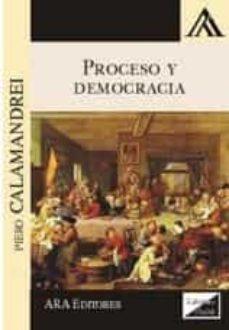 proceso y democracia 2017-piero calamandrei-9789563920307